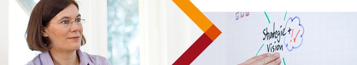 Gabriele Eylers von der Eylers Performance Consulting, Berlin - Projektmanagement, Teamentwicklung, Change Management, Organisationsentwicklung, Organisationsberatung, Führungskräfte-Training, Veränderungsmanagement, Systemische Organisationsberatung und -entwicklung